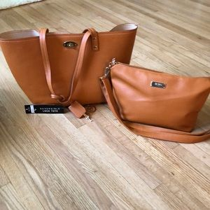 BCBG tote and purse